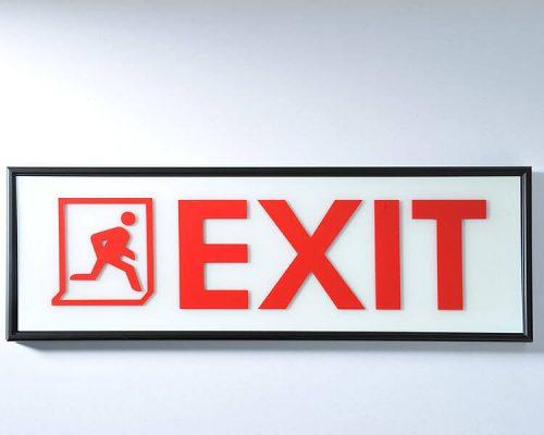 wyciety-laserowo-znak-exit-314