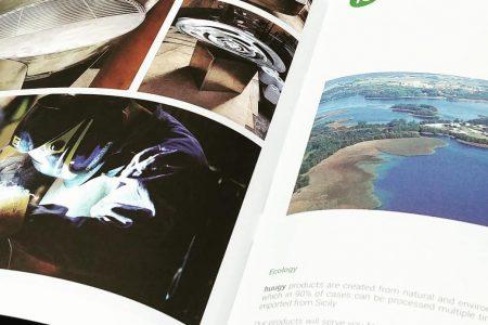 Katalogi, broszury zszywane w wersji EKO!